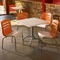 One Table and Four Chairs , 46218