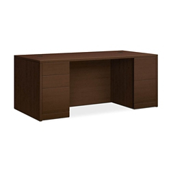 "Executive Desk with Full Pedestals - 72""W, 14550"