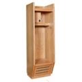 Open Front Wood Locker, 31854