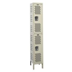 "18""W x 18""D Two Tier Ventilated Locker, 36062"