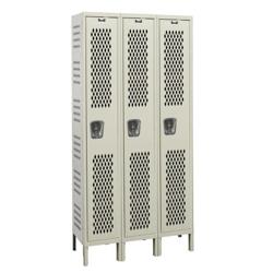 """36""""W x 18""""D Single Tier Ventilated Locker, 36069"""