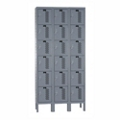 "36""W x 15""D Six Tier Ventilated Locker, 36084"