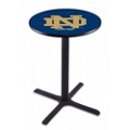 "X-Base College Logo Table - 28""DIA x 36""H, 41904"
