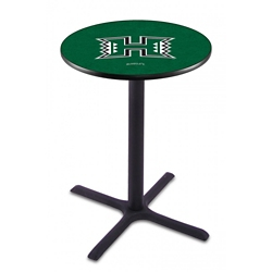 "X-Base College Logo Table - 36""DIA x 36""H, 41905"