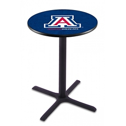 "X-Base College Logo Table - 28""DIA x 42""H, 41906"