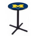 "X-Base College Logo Table - 36""DIA x 42""H, 41907"