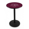 "Disc-Base College Logo Table - 36""DIA x 36""H, 41909"