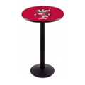"Disc-Base College Logo Table - 28""DIA x 42""H, 41910"
