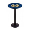 "Disc-Base College Logo Table - 36""DIA x 42""H, 41911"