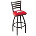 "College Logo Ladder-Backed Stool-25""H Seat, 57099"