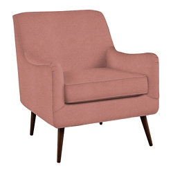 Mid Century Modern Vinyl Lounge Chair, 26390