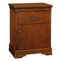 "One Drawer Bedside Cabinet with Lock - 23.25""W, 26097"