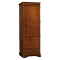 "Single Door Wardrobe with Drawer - 77.5""H, 27100"