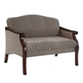 Fabric Upholstered Loveseat, 76335