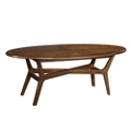 """Oval Coffee Table - 59""""W, 53175"""