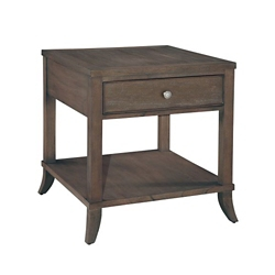 """Lamp Table with Drawer and Lower Shelf - 24.75""""W, 53152"""