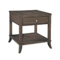 "Lamp Table with Drawer and Lower Shelf - 24.75""W, 53152"