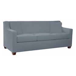 Vinyl Queen-Sized Sleeper Sofa, 26371