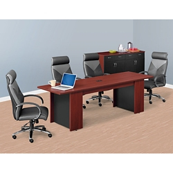 Ascend Rectangular Meeting Table with Power Module - 8', 46036