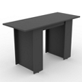 Ascend Rectangular Standing Height Meeting Table - 6 ft, 46041