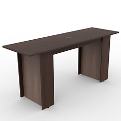 Ascend Rectangular Standing Height Meeting Table with Power Module - 8', 46044