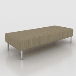 "Fabric Bench - 67""W , 75998"