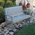 "Outdoor Vertical Slat Bench- 48""W, 85404"