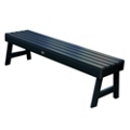 "Outdoor A Frame Synthetic Wood Bench 60""W, 85856"