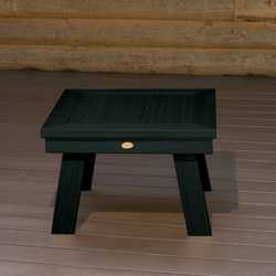 Outdoor Synthetic Wood Side Table, 85865