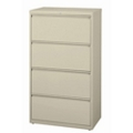 "30"" W Four Drawer Lateral File , 30596"