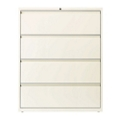 "Four Drawer Lateral File in Cloud Finish - 42""W, 30608"