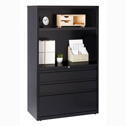 "Combo Shelving and Filing Unit - 36""W, 32824"