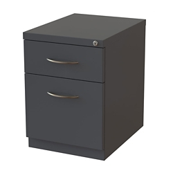 "22""D Two Drawer Locking Mobile Pedestal, 34439"
