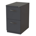"22""D Two Drawer Locking Mobile Pedestal, 34441"