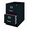 "25""D Two Drawer Legal Vertical File, 34498"