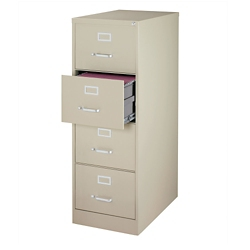 "25""D Four Drawer Legal Vertical File, 34500"