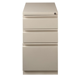"20""D Three Drawer Mobile Pedestal , 34953"