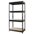 "Four Shelf Riveted Shelving - 30""W x 16""D x 60""H, 36252"