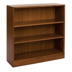 Hardwood Three Shelf Bookcase, 32893