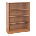 Hardwood Four Shelf Bookcase, 32894