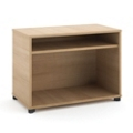 "Two Shelf Open Storage Cabinet - 30""W, 30868"