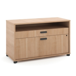 "Two Drawer Lateral File with Storage - 36""W, 30869"