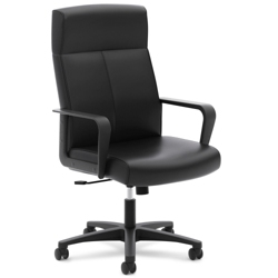 Leather Executive Chair with Integrated Headrest, 56602