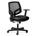 HON Volt Mesh and Leather Task Chair, 56972