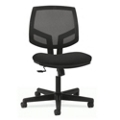 HON Volt Armless Mesh and Fabric Task Chair with Synchro Tilt, 56973