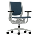 HON Purpose Mid-Back Task Chair with Adjustable Arms, 57022