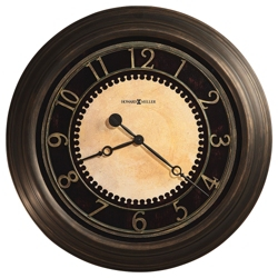 "Antiqued Wall Clock - 25.5"" Dia, 85842"