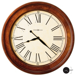 "30"" Wood Frame Wall Clock, 85078"