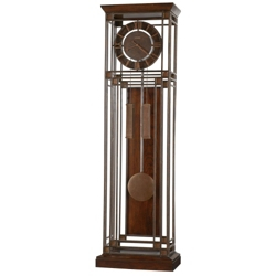 "Contemporary Metal Floor Clock - 23.75""W x 78.75""H, 85083"