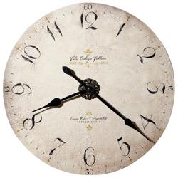 """32""""Dia Antique Dial Wall Clock, 91245"""
